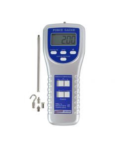 Dinamômetro Digital Portátil Escala 0 a 5KgF com RS-232, Display Normal/Reverso para Tração e Compressão Mod. DD-500