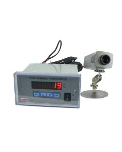 Termômetro infravermelho mod. TI-840 digital fixo com comunicação RS-485 e 2 relê para alarme