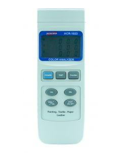 Analisador de cores mod. ACR-1023, medição de materiais luminosos e não luminosos
