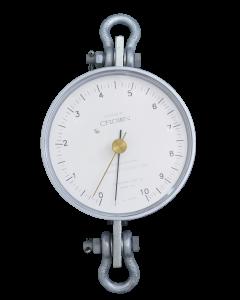 Dinamômetro circular mod. BR-1000 analógico, faixa 0 a 1000 kgf