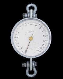 Dinamômetro Circular Analógico Faixa 0 a 3000Kg. Graduação 20Kg. mod. BR-3000