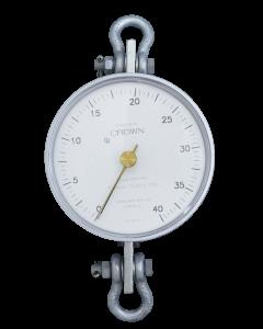 Dinamômetro Circular Analógico Faixa 0 a 4000Kg. Graduação 50Kg Mod. BR-4000