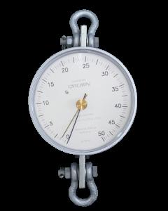 Dinamômetro Circular Analógico Faixa 0 a 5000Kg. Graduação 50Kg. Mod. BR-5000