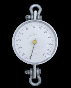 Dinamômetro Circular Analógico Faixa 0 a 600Kg. Graduação 5Kg Mod. BR-600