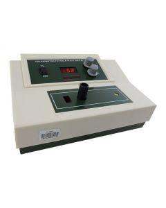 Colorímetro fotoelétrico mod. C-200, display de LED, faixa de medição de 420 a 660nm
