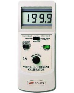 Calibrador mod. CC-124 de voltagem e corrente digital portátil