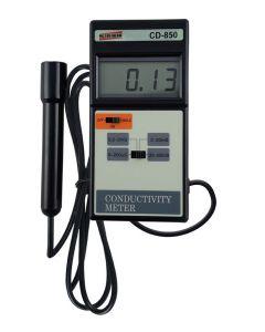 CONDUTIVÍMETRO (MEDIDOR DE EC) MOD. CD-850 DIGITAL PORTÁTIL, FAIXA DE 0 A 200MS