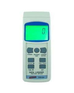 Datalogger mod. CDR-550 digital com entrada para cartão SD e interface RS-232
