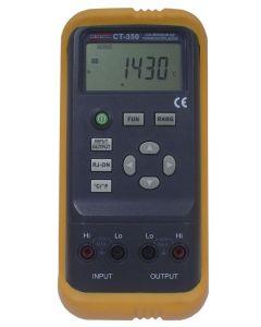 Calibrador mod. CT-350 de termoacoplados digital portátil de precisão