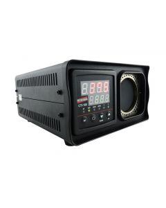 Calibrador de termômetro infravermelho mod. CTI-100, faixa de operação de 50 a 500°C, alvo de 58mm com emissividade de 0,95