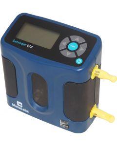 Calibrador mod. 510L, faixa de 5 a 500mL/m compatível com bombas de amostragem de poeira e gás