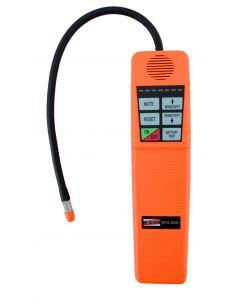 Detector de fuga de gás mod. DFG-2000 portátil com alarme visual/sonoro