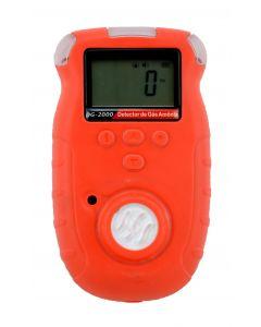 Detector de amônia mod. DG-2000 digital portátil, faixa de medição de 4 a 100ppm com armazenamento de dados