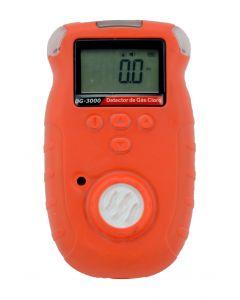 Detector de cloro mod. DG-3000 digital portátil, faixa de medição de 0 a 20ppm