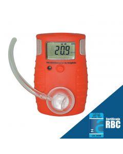Detector de oxigênio (O2) mod. DG-4000 digital portátil, faixa de medição de 0 a 30% Vol