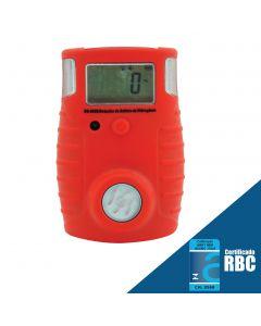 Detector de sulfeto de hidrogênio (H2S) mod. DG-8000 digital portátil, faixa de medição de 0 a 100 ppm