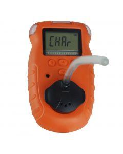 Detector de Gás Etanol Mod. DGE-1000 intrinsecamente seguro, com ponto de calibração ajustável e três tipos de alarme: sonoro, visual e vibratório.