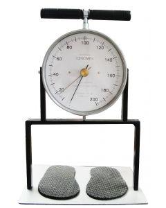 Dinamômetro Analógico Faixa 1 a 200Kg. Graduação 1Kg. Mod. Dorsal