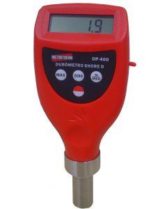 Durômetro digital portátil shore D Mod. DP- 400 para borracha dura com saída para pc e faixa 0 a 100