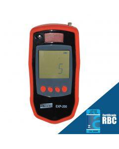 Explosimetro Digital Portátil para Metano com Kit Espaço Confinado e Saída USB Mod.EXP-200