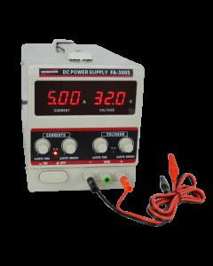 Fonte de Alimentação Mod. FA-3005 Digital de 1 canal, tensão até 32 volts, corrente até 5 Ampéres