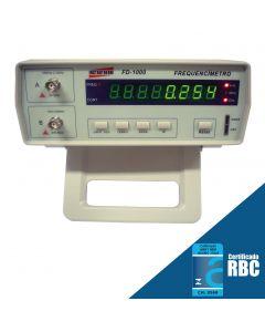 Frequencimetro Digital de Bancada Faixa 10HZ a 2400MHZ Mod.FD-1000