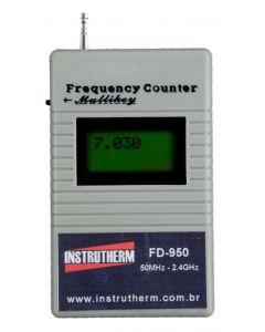 Frequencimetro Digital Portatil de Bolso Faixa 50MHZ a 2.4ghz P/RF Mod.FD-950