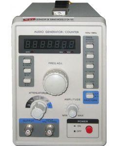 Gerador de Audio Digital Faixa 10HZ a 1MGZ Mod.GA-100