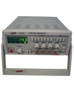 Gerador de Funções Digital Faixa 0,1HZ a 2MHZ em 7 Escalas Mod.GF-220