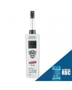 Psicrômetro (Termo-Higrômetro) Digital Portatil Escala Ponto de Orvalho mod. HT-270