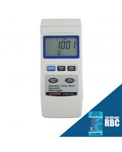 Termo-Higrômetro Digital Portátil, Temperatura 0 a 50C, Umidade 0 a 95% U.R., Ponto de Orvalho -25,3 a 48,9C Mod. HTR-170