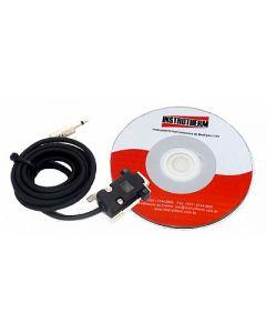 Kit de Comunicação (Software +Cabo Rs-232) compatível com Mod. Radalert-100