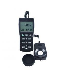 Luxímetro Digital Escala 0 a 999.900 LUX com RS-232 e Datalogger Mod. LDR-225