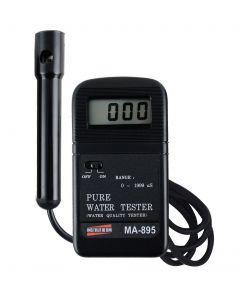 Analisador de água mod. MA-895, com compensação de temperatura automática