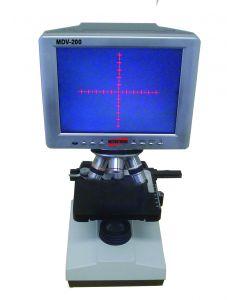 Microscópio Digital de Bancada com Visor Mod. MDV-200