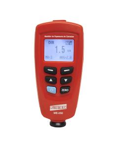 Medidor de espessura mod.: ME-250 para camadas de tintas em base ferrosa e não ferrosa com datalogger e saída para PC