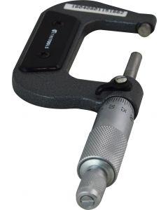 Micrômetro Externo mod. MIC-50 com resolução de 0,01mm, faixa de 25-50mmmm