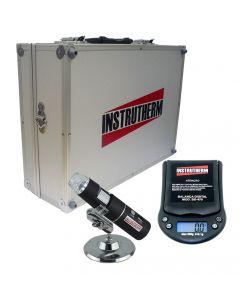 Kit Medição Para Agricultura com Microscópio Portátil, Balança Digital e Maleta Para Transporte