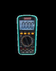 Multímetro Digital Portátil TRUE RMS, CAT IV-600V, Mod. MD-810, Retroiluminado, Indutância, Frequência e Temperatura