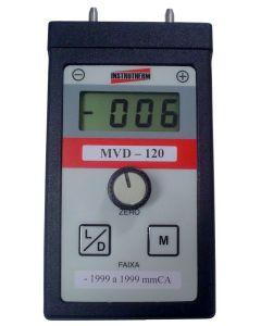 Mano-Vacuômetro Digital/ Portátil mod. MVD-120