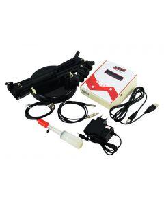 Medidor de PH modelo PH-5000 com medição de temperatura, mV e ORP, comunicação USB e Slope