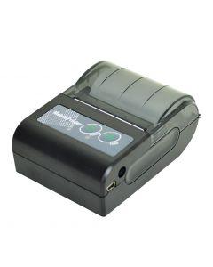 Mini impressora térmica modelo PR-200, interface bluetooth e USB compatível com etilômetros e smartphones