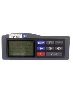 Rugosímetro digital portátil Parâmetros Ra, Rz, Ry, Rq, Rp, Rm, Rt, R3z, Rmax, Sk, S, Sm, tp, mod. RP-200
