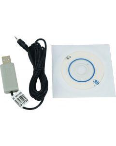 Cabo USB compatível com mod. RP-300, DP-100, DP-400, DEC-500, DP-500, DP-510, RP-310, BR-60 E BR-100