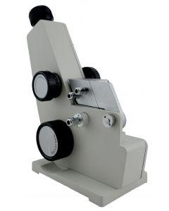 Refratômetro de bancada tipo Abbe mod. RTA-100 com termômetro e conexão para banho termostático