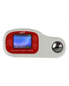 Refratômetro Digital Portatil e Bancada escala 0 - 95% Brix mod. RTD-95