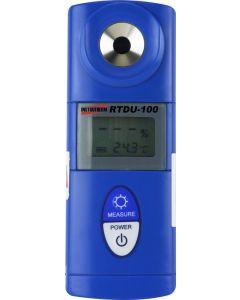 Refratômetro mod. RTDU-100 digital portátil para uréia, faixa de medição de 0 a 40%, resolução de 0,1%, compensação de temperatura automática de 5 a 40ºC