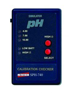 Simulador de pH mod.SPH-740, pontos 4.00/7.00/10.00 pH