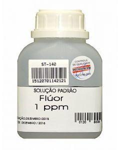 Solução Padrão de Fluor Mod. ST-140 com 1 PPM usada no Mod. FD-570
