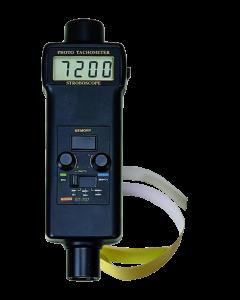 Tacômetro/ Estroboscópio mod. ST-707 digital portátil faixa optico 5 a 99999 RPM e estroboscopio 100 a 100000 FPM